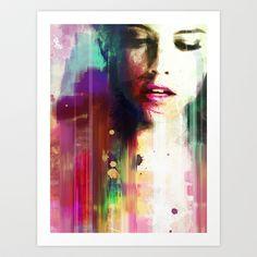 Defeat Art Print by Vincent Vernacatola - $16.00