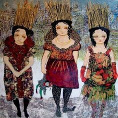 Zerrin Tekindor Turkish Art, Artist Life, Puppets, Contemporary Art, Painters, Turkey, Hand Puppets, Doll, Contemporary Artwork