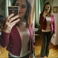 Quasi mi dimenticavo l' #outfit di oggi  pantaloni bellissimi sono un nuovo acquisto coi saldi da @stefanel_official consiglio a tutte quelle a cui stanno bene i pantaloni a palazzo di andare perché hanno delle cose bellissime quest'anno  maglioncino @edasofficial giacca @veromoda presa su @zalando  #OOTD #outfitoftheday #appuntidimakeup #igers #igersitalia #ibblogger #bblogger #igersroma #love #picoftheday #photooftheday #amazing #smile #instadaily #followme #instacool #instagood…