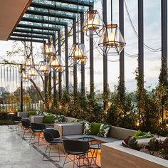 The Waiting Room - Terrace, Crown Towers Perth | @seanfennessy #batessmart #jeffcopolov #green @electrolight__ #perth