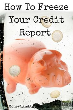 Have you ever been the victim of identity theft? Did you know that you can freeze your credit report to protect yourself and your family from identity theft. Here are several tips on how to freeze your credit report and protect your credit score from furt