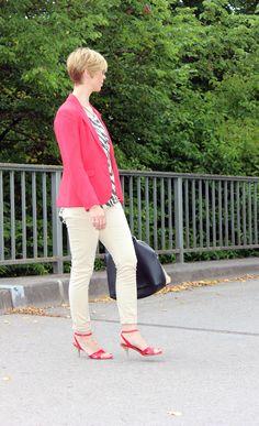 Stylingserie: Das kleine 3 x 1 Part 1 - Business-Look red Blazer und leoprint