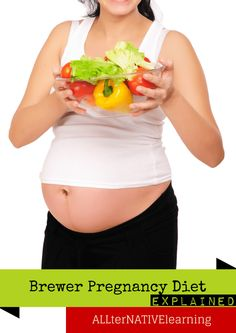 Pregnancy Nutrition Plan Using the Brewer Diet (With detailed explanations). Helps prevent preeclampsia and is a healthy diet and nutrition plan for keeping mom and baby healthy and happy.
