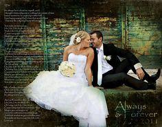 Wedding Photo First Dance Song Lyrics Anniversary Gift Photo Art Custom Photo Editing