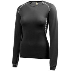 Helly Hansen Mens Lifa Seamless Crew LS Exercise Fitness Base Layer Top