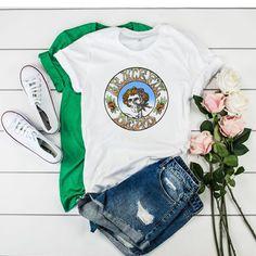 Vintage Grateful Dead t shirt Grateful Dead, Direct To Garment Printer, Vintage 70s, Shirt Style, Shirt Designs, Outfits, Prints, T Shirt, Stuff To Buy