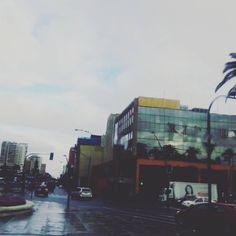 Una mañana lluviosa en Viña del Mar...Calle Viana...  <3