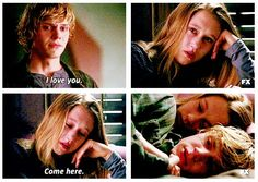 Violet and Tate. American Horror Story Murder House.
