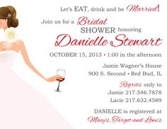 Hey, I found this really awesome Etsy listing at http://www.etsy.com/listing/159818700/wine-theme-bridal-shower-invitation