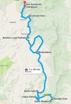 De panoramaroute is wat mij betreft de mooiste autoroute van Zuid-Afrika. Lees alles over de verschillende stops tijdens deze prachtige route.