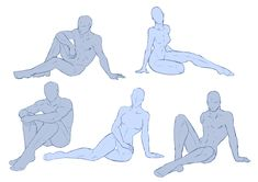 """Anatomy Drawing Reference drawingden: """" Varied Sitting Poses Pose Pack - by ShadowInkWarrior """" - Drawing Poses Male, Male Figure Drawing, Sketch Poses, Figure Drawing Reference, Guy Drawing, Drawing Base, Character Drawing, Drawing People, Anatomy Drawing"""