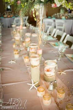 129 great beach wedding tables images beach weddings wedding rh pinterest com