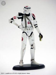 Estatua Star Wars. Comandante Neyo, 19cms. Elite Collection