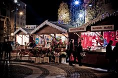 A Christmas Market in Normandy