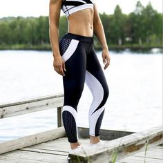 Girl Triangles Pink Marble 3D Print Skinny Stretchy Pants Yoga Leggings