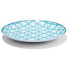 Porcelain Dinner Plate - Jade Green, Moroccan-Style