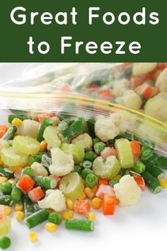 Foods that Freeze Wellthat will help you save money! Best Thrifty Tips #thrifty