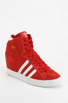 Adidas Basket Suede High-Top Sneaker #urbanoutfitters