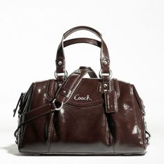 9fdc1d2b581cd Enter to win a Coach Ashley Patent Leather Purse - Ends