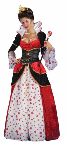 Alice In Wonderland Queen Of Hearts Costume