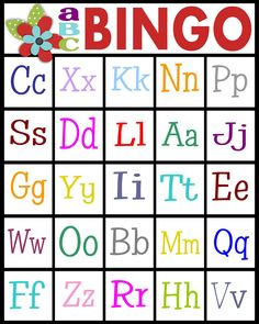 Free printable alphabet letters bingo game download here for teaching letter recognition or letter sounds abc bingo for kids spiritdancerdesigns Image collections