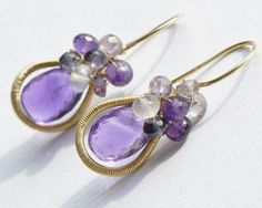 Jewelry+Tutorial++Earrings++oOo+The+Halo+by+EmilyGrayTutorials,+$25.00