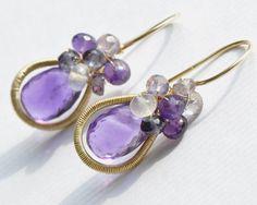 Jewelry+Tutorial++Earrings++oOo+The+Halo+by+EmilyGrayTutorials,+$25.00