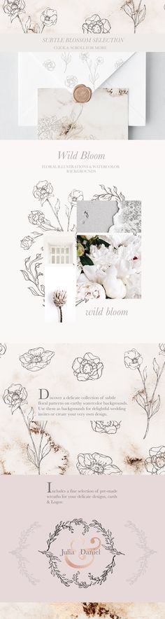 Illustrations & Watercolor Designkit by Laras Wonderland on @creativemarket