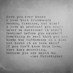 Leo Christopher • This Love