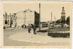 Zudusī Latvija - Liepāja. Rožu laukums. Otrā pasaules kara postījumi