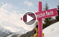 Schneeschuhtour in Vals