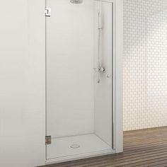 modelo DT, puerta de ducha 180º INOX