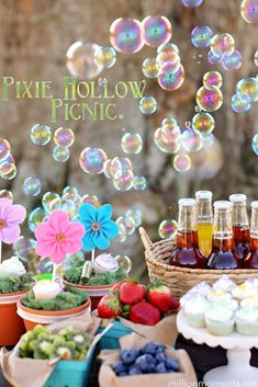 Hello Spring Pixie Hollow Picnic - A Million Moments