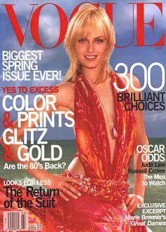 Vogue March 2000  Amber Valletta