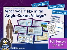 A full lesson for about life in an Anglo-Saxon settlement, including a detailed lesson plan, Powerpoint and pupil resource sheets. What was it like in . Primary History, Teaching History, Teaching Resources, Vikings Ks2, Viking Facts, Rome Architecture, Anglo Saxon, Ancient Rome, What Is Life About