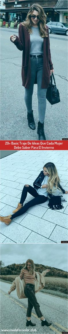 29+ Basic Traje De Ideas Que Cada Mujer Debe Saber Para El Invierno