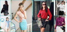 Women Shirts, Spring Collection, Chiffon Shirt Spring wear   http://www.koolkart.com/shop/clothing/women/shirts