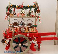 A Christmas cart!