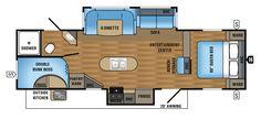2017 Jay Flight 29BHDS Floorplan