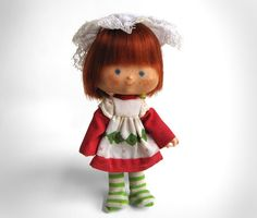 A 1979 American Greetings Strawberry Shortcake doll