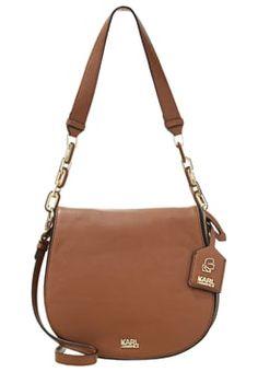 KARL LAGERFELD GRAINY - Handbag - tan £295.00 #ShopSale #prett #WomensClothing