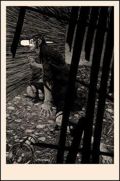 ''Frankenstein'' by Bernie Wrightson