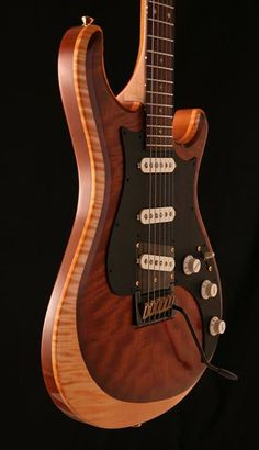 2009 Knaggs Guitars Severn Trem in Golden Natural