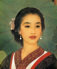 El matrimonio Wang Meifang y Zhao Guojing [Pintura Gongbi] | BLACKNUBA