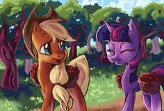 A Helping Hoof by My-Magic-Dream.deviantart.com on @DeviantArt