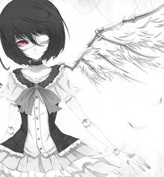 anime, another, another anime manga wings, manga, wings Manga Art, Manga Anime, Anime Art, Vocaloid, Another Misaki Mei, My Little Pony, Chibi, Maou Sama, Hokusai