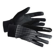 CRAFT BRILLIANT 2.0 ciepłe rękawiczki do biegania 1904311-9999 Czarny - MikeSport.pl
