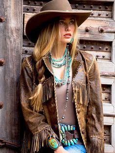 Stagecoach jacket i 2019 western wear fashion, cowgirl chic Cowgirl Chic, Moda Cowgirl, Estilo Cowgirl, Estilo Hippie, Cowgirl Style, Western Chique, Western Wear, Western Look, Mode Country