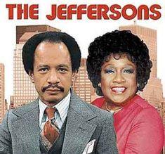 """The Jeffersons"" - TV show sitcom of Black Tv Shows, 80 Tv Shows, Old Shows, Great Tv Shows, Childhood Tv Shows, My Childhood Memories, 1970s Childhood, Childhood Friends, School Tv"