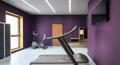 Booking.com: Okko Hotels Grenoble - Grenoble, France:  Salle de sport à domicile.